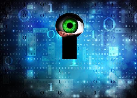 spy ware: spyware Stock Photo