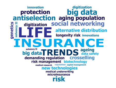 medical distribution: life insurance trend words