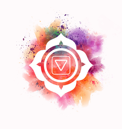muladhara chakra Stock Photo