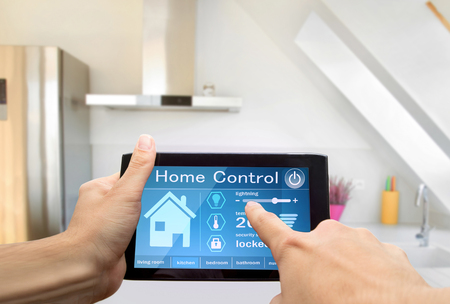 temperature controller: home control device tablet