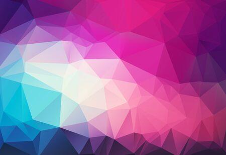 magenta: triangular abstract magenta background
