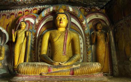 buddha statue in dambulla