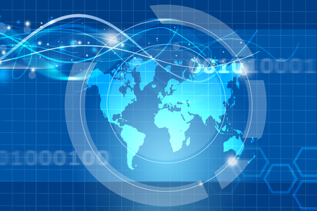 wereldwijd handelsconcept