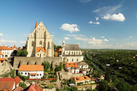 beautiful czech tourist town