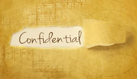 unveil: word confidential