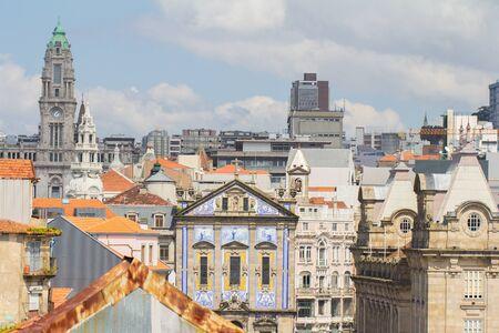 porto town cityscape in portugal