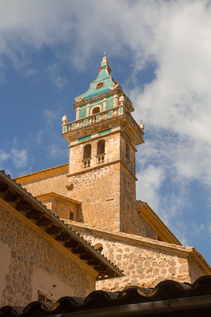 church tower low angle view Stock Photo