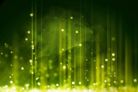 green matrix code background