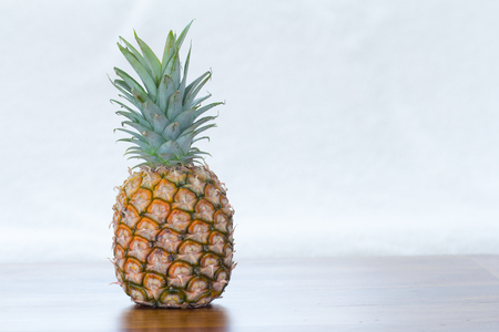 copy space: pineapple with copy space