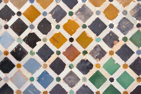 alhambra tegelmuur