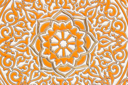 Andalusische keramische close-up
