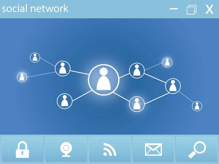 social network webpage