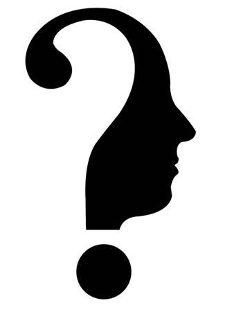 questionmark head