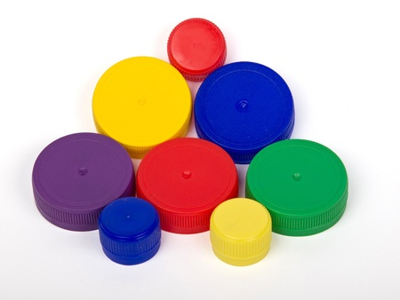 plastico pet: tapas de plástico para ambalage mascota