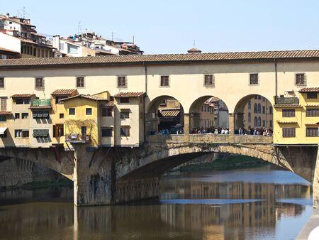 vechio: Ponte Vechio bridge in Florence Italy
