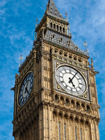Big Ben tower in London UK Stock Photo