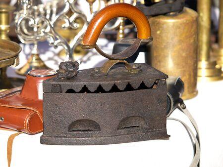old iron on the open market of portobello road Stock Photo - 17069999