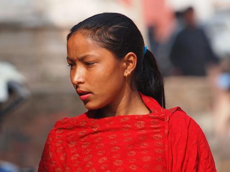 beautiful young girl from Kathmandu Nepal
