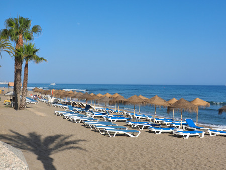 beaches on costa del sol, Spain