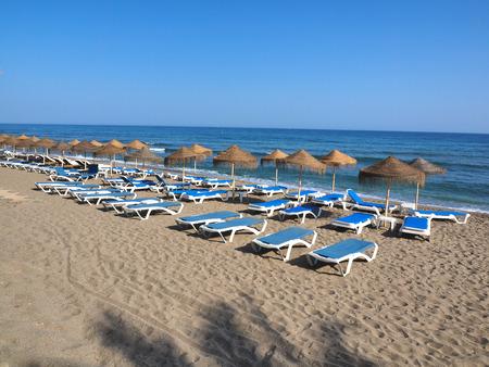 beaches of spain: beaches on costa del sol, Spain