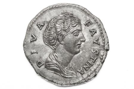 Moneda de plata romana, denario