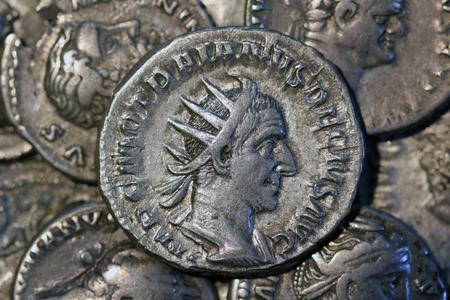 RomeTrajan Decius Antoninianus Rome 249-251, Roman coins