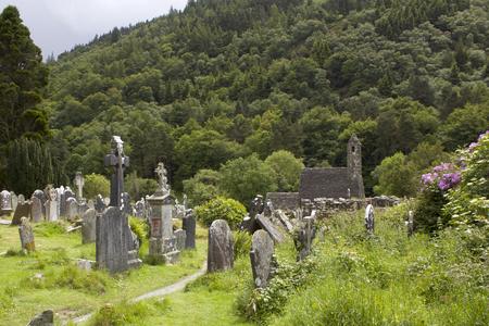 Medieval monastery Glendalough