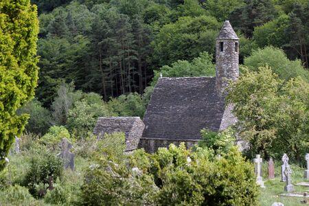 irish culture: Medieval monastery Glendalough
