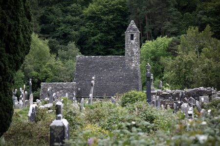 monastic: Medieval monastery Glendalough
