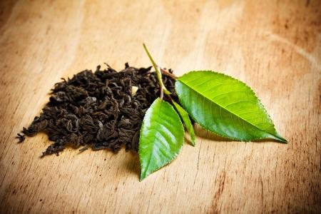 tea crop: tea Stock Photo