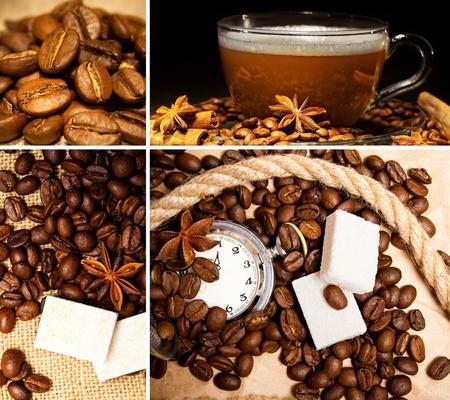 anisetree: Beautiful coffee collage