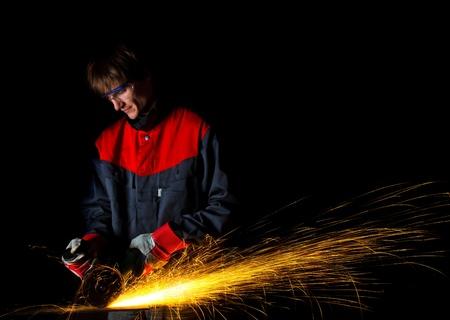 molinillo: los trabajadores de molienda de hierro