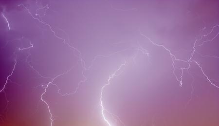 thundering: real lightning on may night