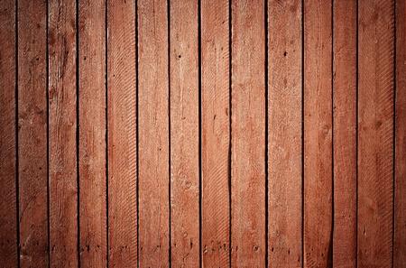 decrepit: painted wooden fence