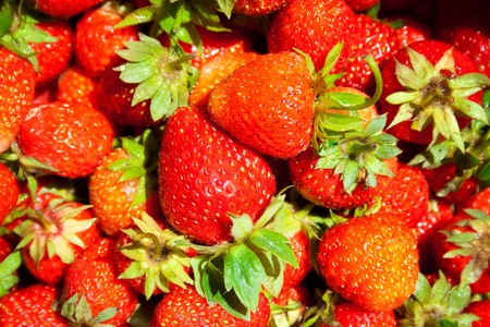 strawberry background photo