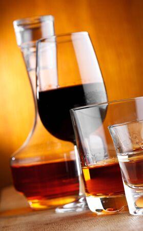 alcohol drinks closeup photo