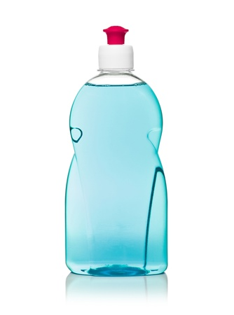 dishwashing: dishwashing liquid Stock Photo