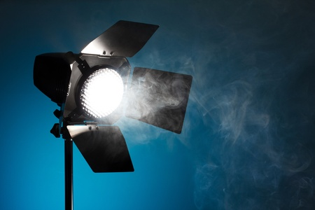 snoot: Studio spot light with smoke