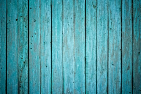 grungy wood: old painted wooden fence
