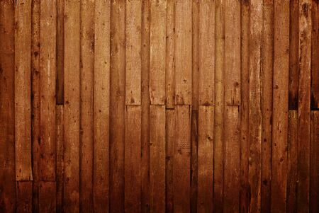 old wooden fence photo