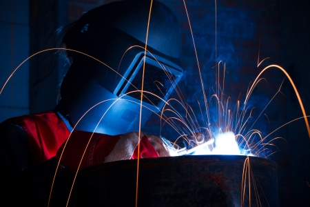Working welder Stock Photo - 15320177