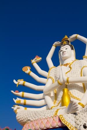 big buddha: Big Guan Yin statue, Thailand