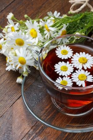 tannin: Chamomile tea