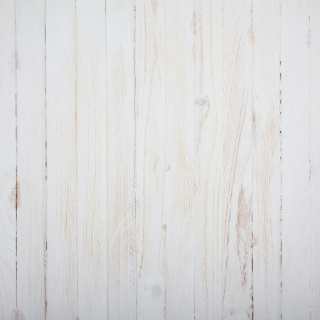 white texture: Vintage white wooden table background top view