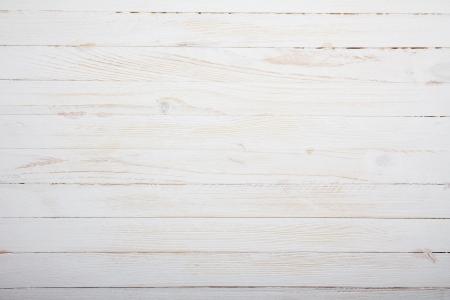 Vintage white dřevěný stůl pozadí pohled shora
