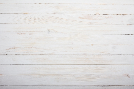 wooden floors: Vintage white wooden table background top view