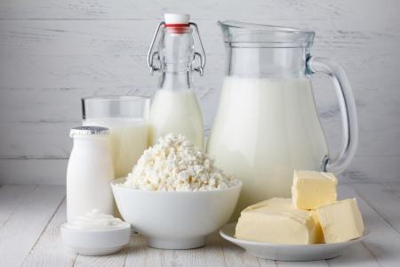 Milchprodukte Standard-Bild - 25059144