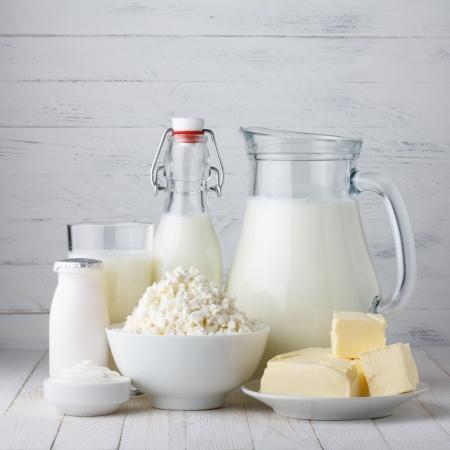 Milchprodukte Standard-Bild - 25057807