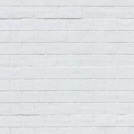 Bílá cihlová zeď textury pozadí