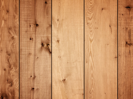 smooth wood: Wooden plank panels wall background